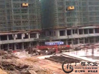 贵州建筑模板工地