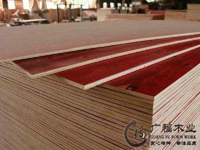 云南建筑模板铁红面